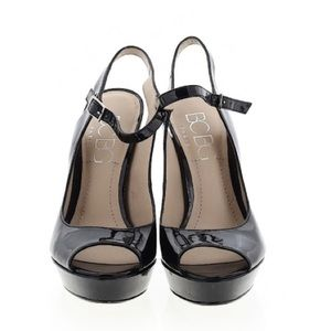 👠 BCBG Paris Patent Black Pumps 👠